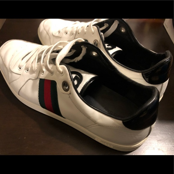 f54cebb3128 Gucci Other - Gucci Men s Lace Up Trainer With Interlocking G